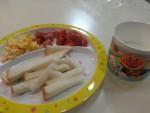 子供の朝食