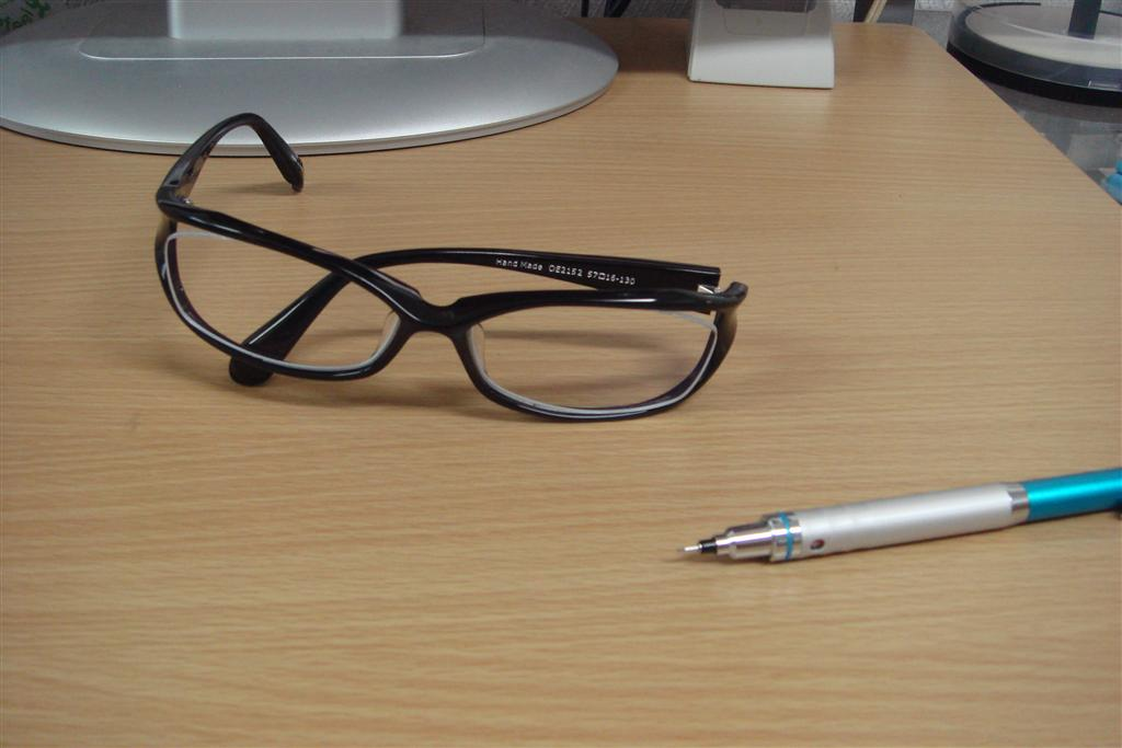 眼鏡買いました