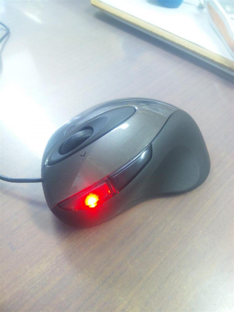 新しいマウス