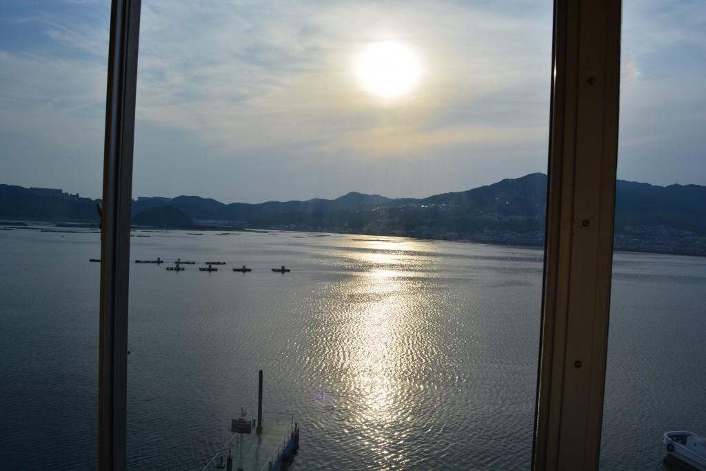 淡路島は、泊りでした。