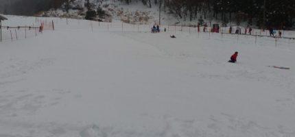 2020年2月 雪遊び 朽木スキー場